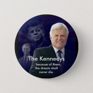 Edward (Ted) Kennedy with Jack and Bobby Pin