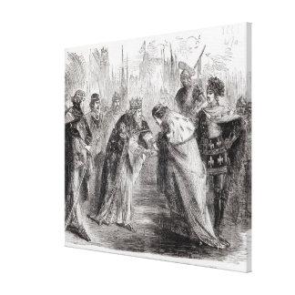 Edward the Black Prince Canvas Print