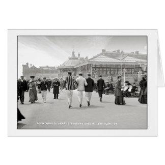Edwardian Bridlington Greeting Card