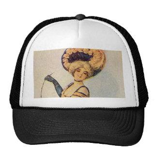 Edwardian Dancing Lady Hats
