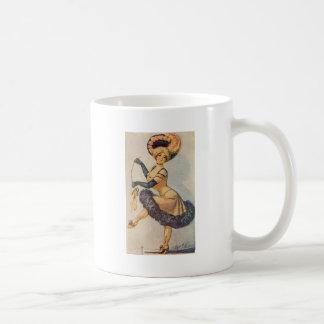 Edwardian Dancing Lady Mugs