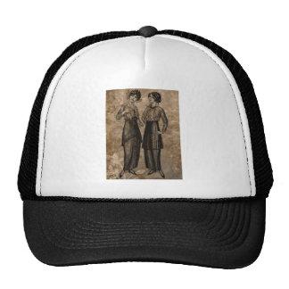 EDWARDIAN LADIES.jpg Trucker Hats