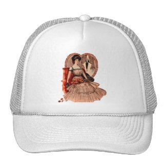 Edwardian Lover's Valentine Trucker Hat