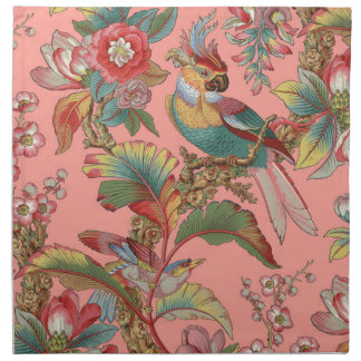Edwardian Parrot ~ Duchess Napkin