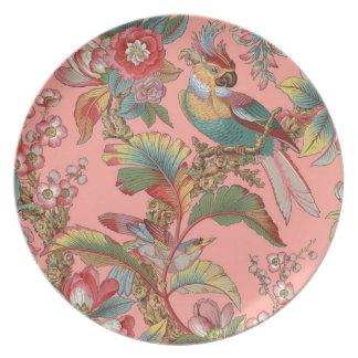 Edwardian Parrot ~ Duchess Plate