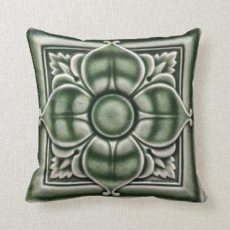 Edwardian Tile cushion