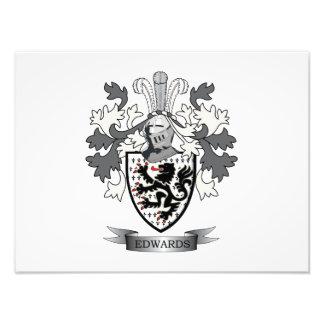 Edwards Family Crest Coat of Arms Art Photo
