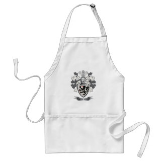Edwards Family Crest Coat of Arms Standard Apron