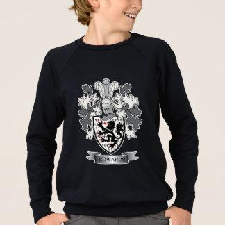 Edwards Family Crest Coat of Arms Sweatshirt