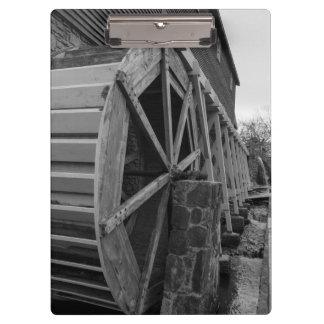 Edwards Water Wheel Clipboard