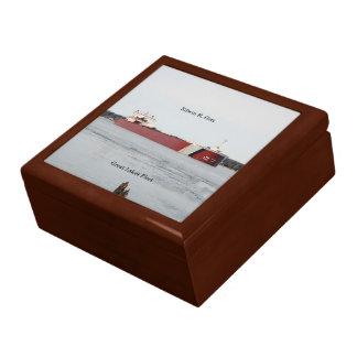 Edwin H. Gott Keepsake box