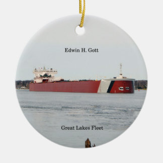 Edwin H. Gott ornament