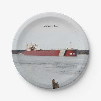 Edwin H. Gott paper plate