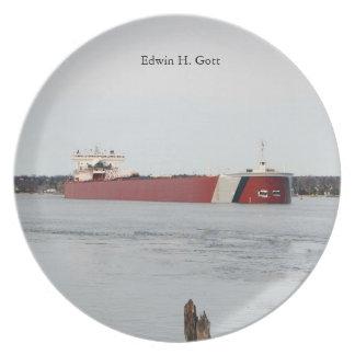 Edwin H. Gott plate