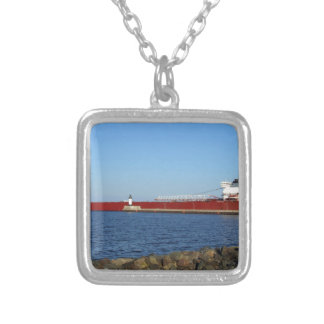 Edwin H Gott Silver Plated Necklace