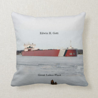 Edwin H. Gott square pillow