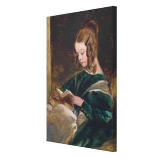 Edwin Henry Landseer Rachel Russell Canvas Print