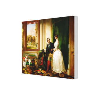 Edwin Landseer Windsor Castle in Modern Times Canvas Print