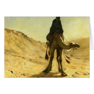 Edwin Lord Weeks- The Camel Rider Card
