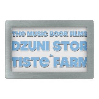 Edzuni Store Artiste`Farmer Rectangular Belt Buckles