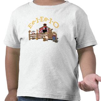 Ee I Ee I O on the Farm T-shirts
