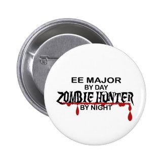 EE Major Zombie Hunter Pinback Buttons