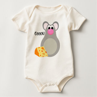 Eeeek - A Mouse! Baby Bodysuit