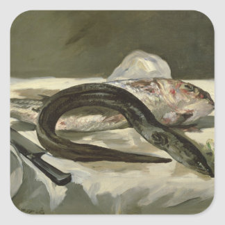 Eel and Red Mullet, 1864 Stickers