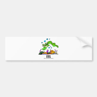 Eel by Lorenzo © 2018 Lorenzo Traverso7 Bumper Sticker