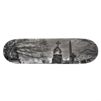 eerie graveyard skateboard decks