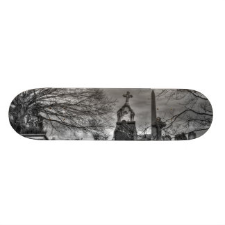 eerie graveyard skateboard