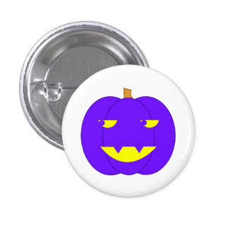 Eerie Purple Jack-o -Lantern Pins