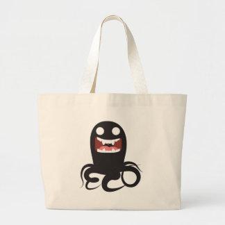 Eerie Sea Monster Canvas Bag