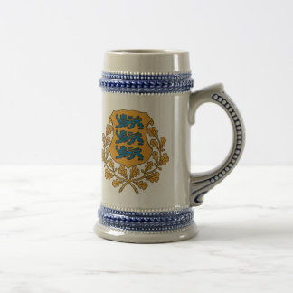 Eesti - Estonian Coat of Arms Beer Stein