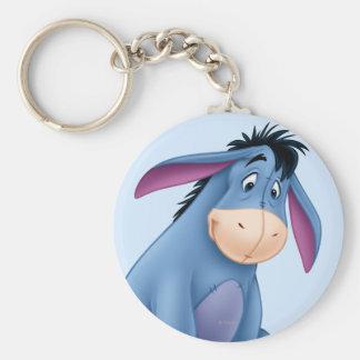 Eeyore 4 basic round button key ring