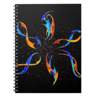 Efenissium - space dolphins notebook