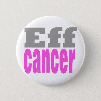 Eff cancer 6 cm round badge