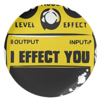effecter plate