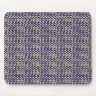 Effective blue flower with sepals on rough grey ba mouse pad