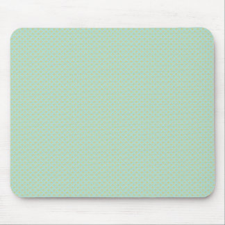 Effective light blue flower with sepals on rough g mousepads