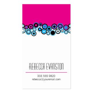 Effervescence Magenta Pack Of Standard Business Cards