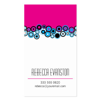 Effervescence Magenta Business Cards