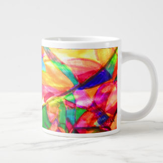 Effervescent Abstract Large Coffee Mug