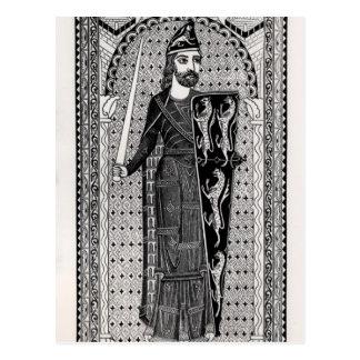 Effigy of Geoffrey Plantagenet Postcard