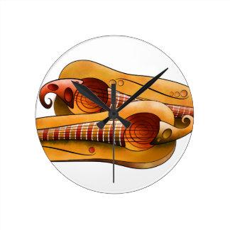 Efheros V1 - squashguitar Round Clock