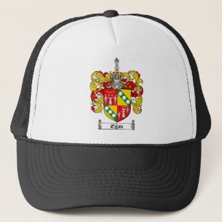 EGAN FAMILY CREST -  EGAN COAT OF ARMS TRUCKER HAT