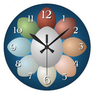 Egg Assortment Clock