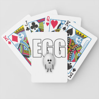 EGG BICYCLE PLAYING CARDS