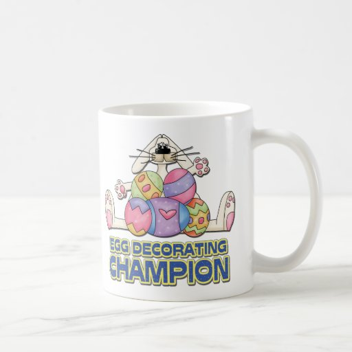 Egg Decorating Champion Coffee Mug