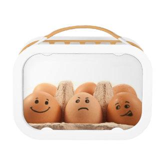 Egg emotions. lunchboxes